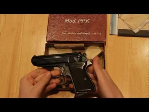 James Bond Walther PPK from 1966 Unboxing!