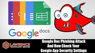 Google Docs Phishing Attack And How Check Your  Google App Security Settings