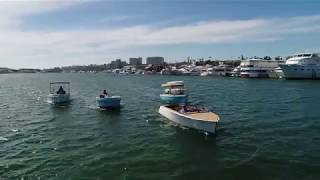 Luxurious and Stylish Electric Boats | Bruce 22, Fantail 217 & Volt 180