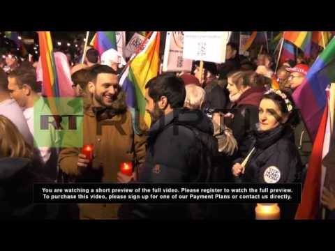 Germany: Gay rights protest marks end of Sochi Olympics