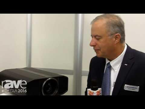 CEDIA 2016: JVC Showcases Its DLA-RS4500 4K D-ILA Projector