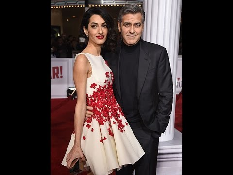 George and Amal Clooney Are Picture Perfect at Hail, Caesar! Premiere With Channing Tatum, Jonah Hil
