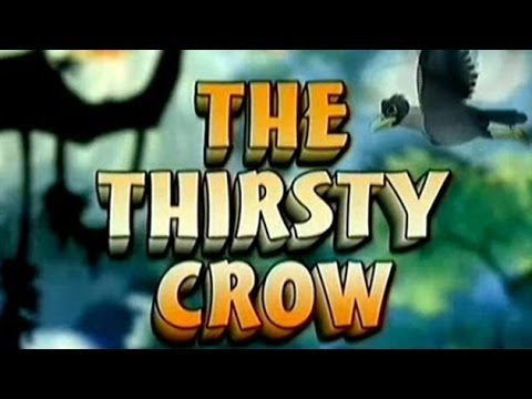 Tales Of Panchatantra | The Thirsty Crow |  Kids Animated Story In English video