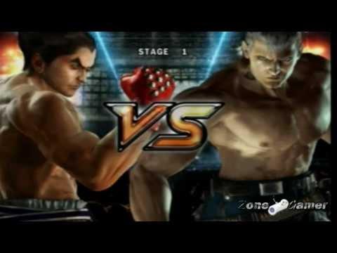 Tekken 5 Kazuya Story Battle Very Hard Mode video