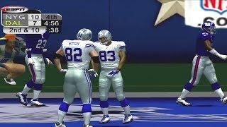 ESPN NFL 2K5 Franchise Giants vs Cowboys