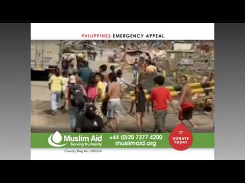 Muslim Aid - EMERGENCY APPEAL, Philippines Typhoon Haiyan. 14 Nov. 2013.