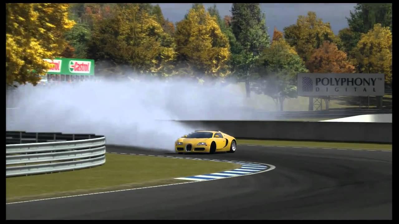 Gt5 Bugatti Veyron Drift W Rydemption Youtube