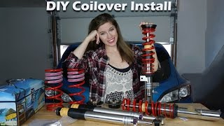 HOW TO INSTALL COILOVER SUSPENSION!