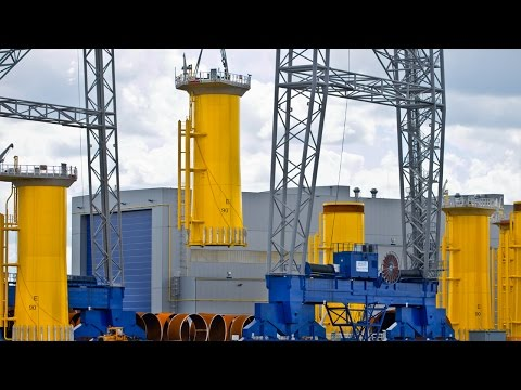 1,376 Tons Oversize Transition Pieces Dong Energy Offshore Windpark Race Bank 2/2
