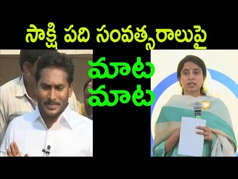 సాక్షి పది సంవత్సరాలు Ys Jagan And Sakshi News 10th Anniversary Celebrations | Cinema Politics