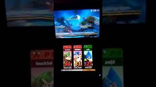 Donkey Kong & Duck Hunt vs. Falco (Super Smash Bros. for 3DS)