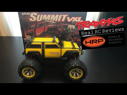 Traxxas 1/16 Summit VXL 4x4 w/TSM Review   Real RC Reviews
