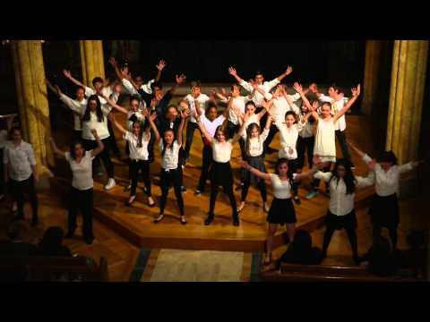 7th Grade performance at the 2014 PPAS Gala