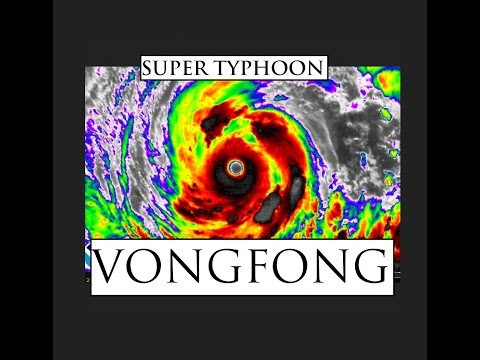 "10/08/2014 -- Super Typhoon ""VONGFONG"" Heading towards Japan -- Now @ Category 5"