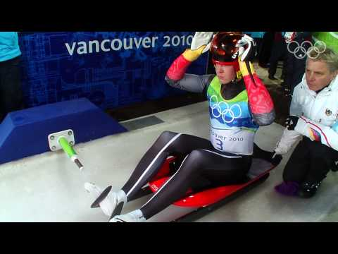 Men's Luge Singles Highlights - Vancouver 2010 Winter Olympic Games