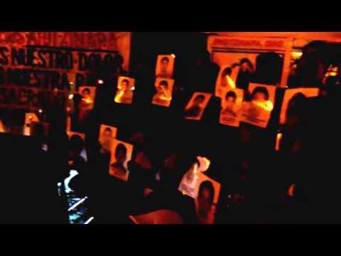 Se solidarizan en Coatzacoalcos con estudiantes de Ayotzinapa
