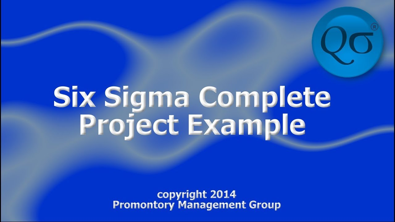 Watch on lean six sigma dmaic