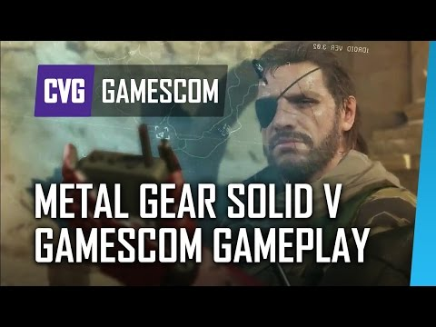 Metal Gear Solid 5 Gamescom Full Gameplay - Afghanistan Different Route