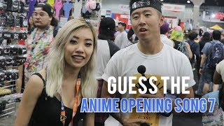 GUESS THE ANIME OPENING SONG 7