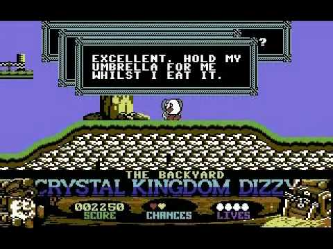 Crystal Kingdom Dizzy on Commodore 64: Section 1