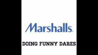 Doing Funny Dares In MARSHALLS!! **Dude Started Following Us!!**