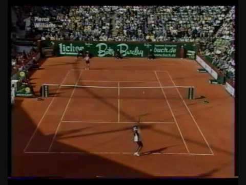 1999 Hamburg 決勝戦(ファイナル)  - ビーナス(ヴィーナス) ウィリアムズ vs. Mary ピアース Last Part