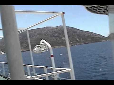 On the Greek Ferry to Samos, from Mykonos.(Greece)