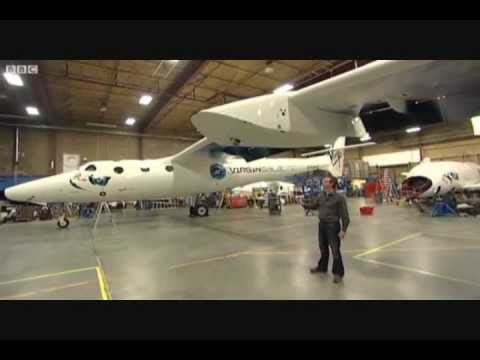 Virgin Galactic Inside the spaceship