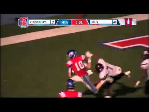 Memphis University School - #10 - Steven Regis - TD Rush - 08/30/2014