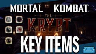 MORTAL KOMBAT 11   KRYPT - KEY ITEM LOCATIONS GUIDE