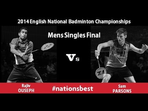 English Nationals Badminton 2014 -  Men's Singles Final video