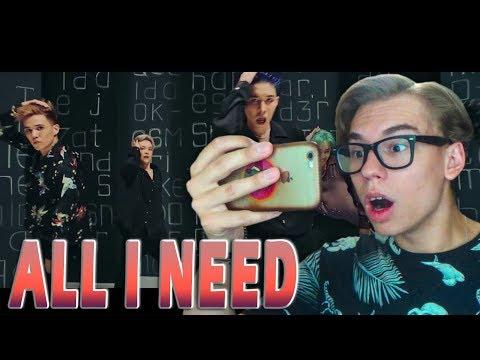 NINETY ONE - ALL I NEED MV // MY REACTION   Женя Симпсон