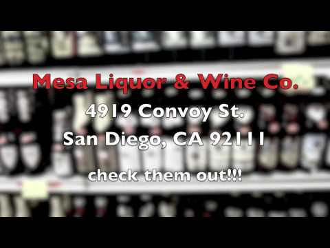 Mesa Liquor & Wine Co. in San Diego. music by BeerichiTuba This is the best ...