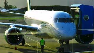 TRIP REPORT   Widerøe NEW Embraer E190-E2   Bergen - Hamburg   Economy Flex