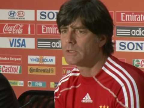 FIFA World Cup 2010 - Loew - Germany on the attack against Spain - Aggressive tactics