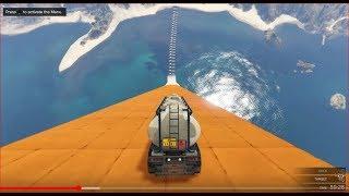 قراند 5 : قفزة خطيرة من فوق القوارب | Jump over the boats GTA
