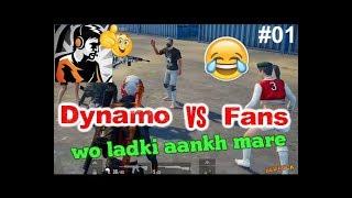 Dynamo no scope headshots to fan, Dynamo funny fan moment 01