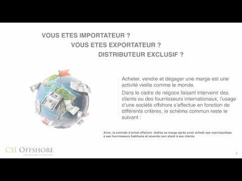 Création société offshore Import Export   CSI Offshore