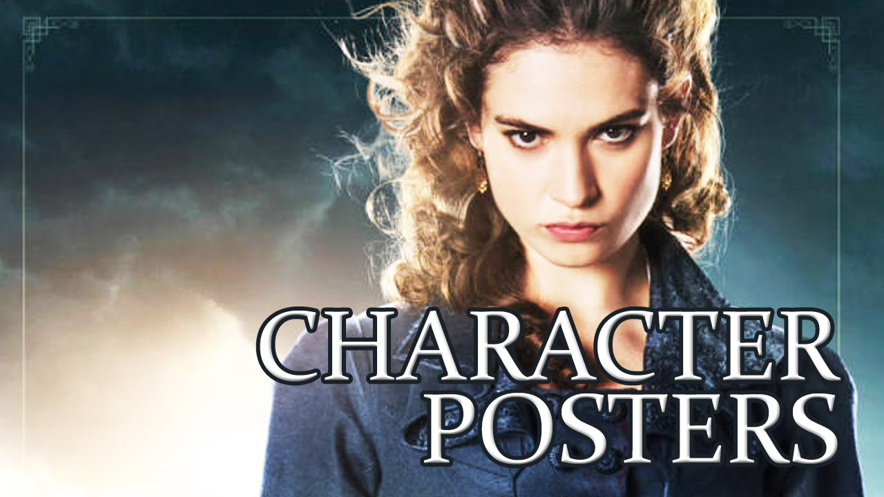 PPZ - Pride + Prejudice + Zombies Character Posters [HD]