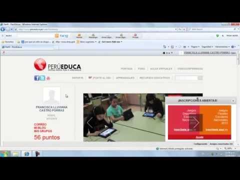 TUTORIAL COMO REGISTRARSE EN PORTAL PERUEDUCA PARA REPORTAR SIMULACROS DE SISMO