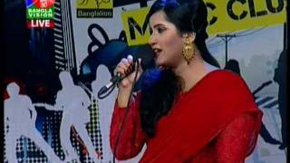 BD singer Nancy on bangla lion music club in banglavision DOLNA