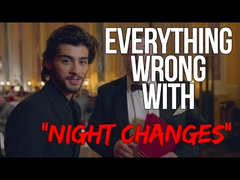 """Everything Wrong With One Direction - """"Night Changes"""""""