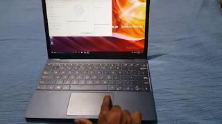 Asus Zenbook 3 UX390UA : Fingerprint Scanner Setup