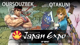 Oursouzbek (Ryu) vs Otakuni (Link) - SSBU Demo - Japan Expo (Paris) 2018