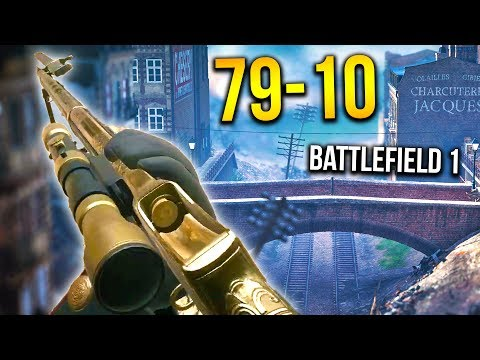 AGGRESSIVE SCOPED MARTINI OP FRONTLINES Battlefield 1 Gameplay