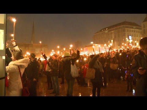 Euphorie-Check für Olympia: Feuer und Flamme in Hamburg und Berlin