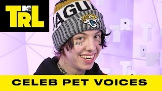 😂You HAVE TO Hear the Voice Lil Xan Uses To Talk To His Dog 🐶  | TRL
