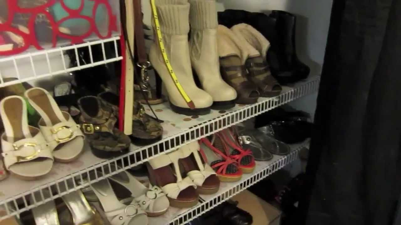 How To Organize Your Closet Shoe Purses And