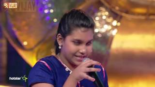 Super Singer Junior - Venmegam Mutta Mutta by Sivaranjani
