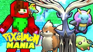 Pixelmon Mania - XERNEAS GUARDIAN OF THE TREE! (Minecraft Pixelmon Roleplay) #1